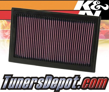 K&N® Drop in Air Filter Replacement - 02-10 Ford Explorer 4.6L V8