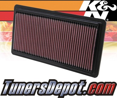 K&N® Drop in Air Filter Replacement - 02-10 Mazda 6 1.8L 4cyl
