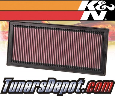 K&N® Drop in Air Filter Replacement - 03-03 Subaru Baja 2.5L H4