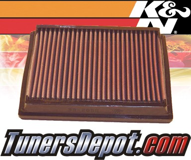 K&N® Drop in Air Filter Replacement - 03-04 Audi RS6 4.2L V8