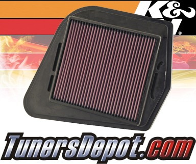 K&N® Drop in Air Filter Replacement - 03-04 Cadillac CTS 3.2L V6
