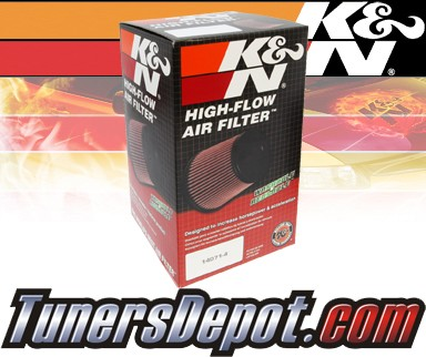 K&N® Drop in Air Filter Replacement - 03-04 Mercedes C230 W203 1.8L 4cyl