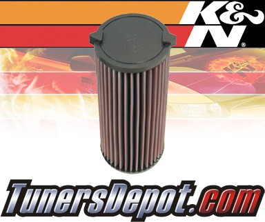 K&N® Drop in Air Filter Replacement - 03-04 Mercedes E320 W211 3.2L L6 Diesel