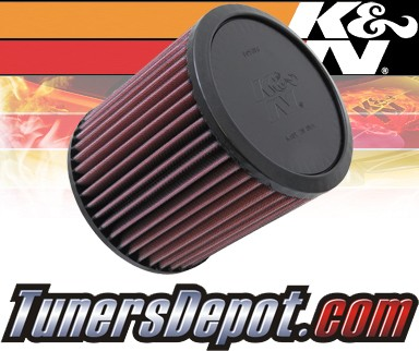 K&N® Drop in Air Filter Replacement - 03-05 Dodge Neon SRT-4 2.4L 4cyl