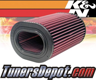 K&N® Drop in Air Filter Replacement - 03-05 Land Rover Range Rover 4.4L V8