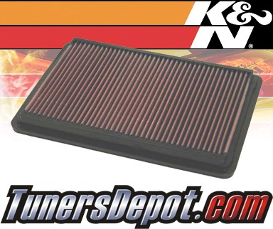 K&N® Drop in Air Filter Replacement - 03-05 Saturn Ion 2.2L 4cyl