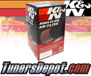 K&N® Drop in Air Filter Replacement - 03-06 Isuzu Ascender 5.3L V8