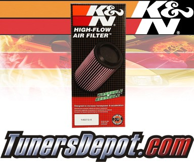K&N® Drop in Air Filter Replacement - 03-07 Chevy Express 2500 6.0L V8