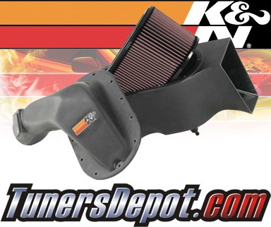 K&N® Drop in Air Filter Replacement - 03-07 Ford F450 F-450 6.0L V8 Diesel