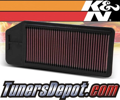 K&N® Drop in Air Filter Replacement - 03-07 Honda Accord 2.4L 4cyl
