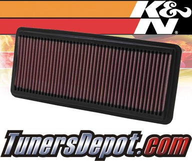 K&N® Drop in Air Filter Replacement - 03-07 Honda Accord 3.0L V6