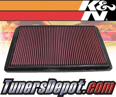 K&N® Drop in Air Filter Replacement - 03-07 Mitsubishi Montero 3.8L V6