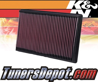 K&N® Drop in Air Filter Replacement - 03-09 Dodge Ram 3500 5.7L V8