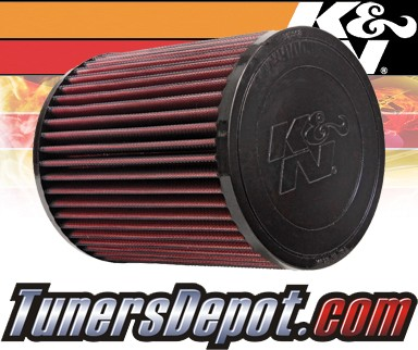 K&N® Drop in Air Filter Replacement - 03-09 GMC Envoy 5.3L V8