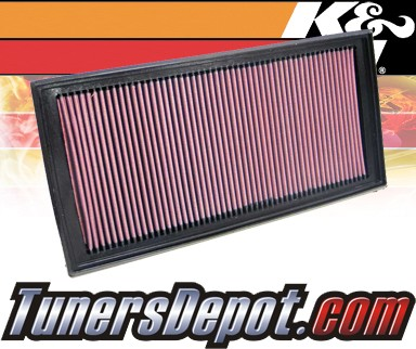 K&N® Drop in Air Filter Replacement - 04-04 Chevy SSR 5.3L V8