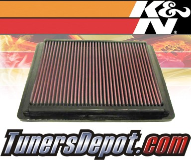 K&N® Drop in Air Filter Replacement - 04-04 Pontiac GTO 5.7L V8