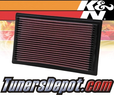 K&N® Drop in Air Filter Replacement - 04-04 Subaru Forester Turbo 2.5L H4