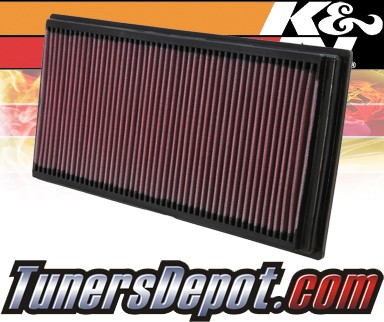 K&N® Drop in Air Filter Replacement - 04-04 Volkswagen VW Golf R32 3.2L V6