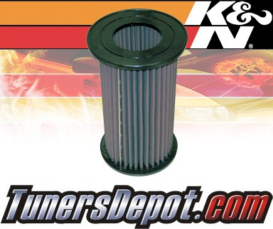 K&N® Drop in Air Filter Replacement - 04-05 Nissan Frontier 2.5L 4cyl Diesel