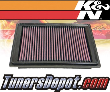 K&N® Drop in Air Filter Replacement - 04-06 Chevy Malibu 3.5L V6