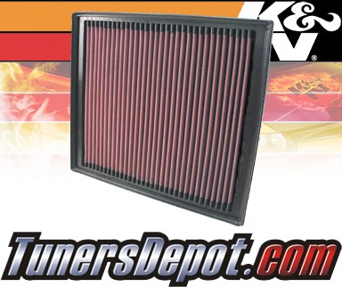 K&N® Drop in Air Filter Replacement - 04-06 Dodge Sprinter 3500 2.7L L5 Diesel