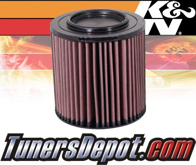 K&N® Drop in Air Filter Replacement - 04-07 Chevy Tavera 2.5L 4cyl Diesel