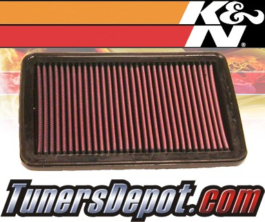 K&N® Drop in Air Filter Replacement - 04-07 Suzuki Aerio 2.3L 4cyl