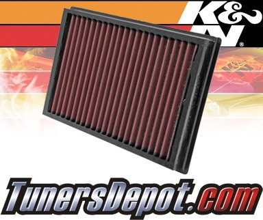 K&N® Drop in Air Filter Replacement - 04-07 Volvo V50 1.8L 4cyl