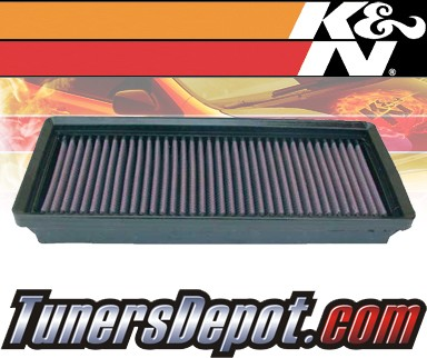 K&N® Drop in Air Filter Replacement - 04-08 Chrysler Crossfire 3.2L V6