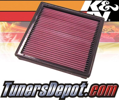 K&N® Drop in Air Filter Replacement - 04-08 Dodge Ram SRT-10 8.3L V10