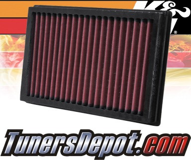 K&N® Drop in Air Filter Replacement - 04-08 Mazda 3 1.6L 4cyl Diesel