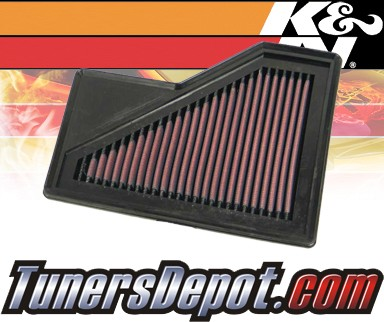 K&N® Drop in Air Filter Replacement - 04-08 Mini Cooper (MT) 1.6L 4cyl