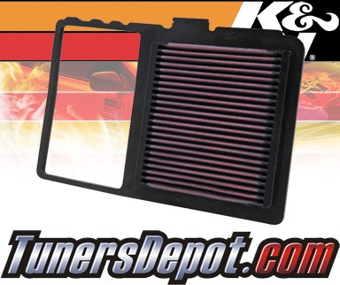 K&N® Drop in Air Filter Replacement - 04-09 Toyota Prius 1.5L 4cyl