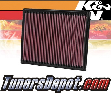 K&N® Drop in Air Filter Replacement - 04-10 Infiniti QX56 5.6L V8