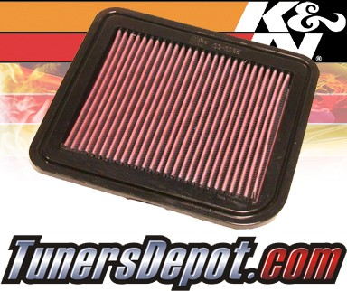 K&N® Drop in Air Filter Replacement - 04-12 Mitsubishi Galant 2.4L 4cyl