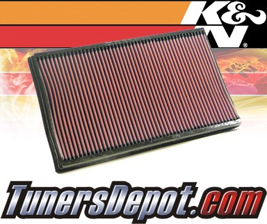 K&N® Drop in Air Filter Replacement - 05-05 Volvo S80 2.9L L6