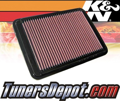 K&N® Drop in Air Filter Replacement - 05-06 Hyundai Santa Fe 3.5L V6