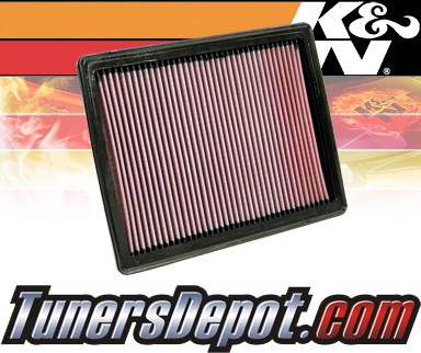 K&N® Drop in Air Filter Replacement - 05-06 Pontiac GTO 6.0L V8