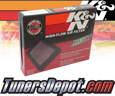 K&N® Drop in Air Filter Replacement - 05-06 Saturn Relay 3.5L V6