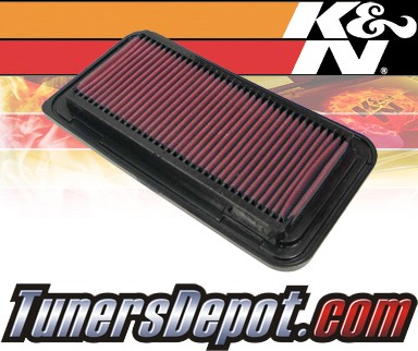 K&N® Drop in Air Filter Replacement - 05-06 Scion tC 2.4L 4cyl