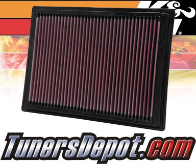 K&N® Drop in Air Filter Replacement - 05-07 Ford F250 F-250 5.4L V8