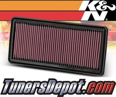 K&N® Drop in Air Filter Replacement - 05-07 Honda Accord Hybrid 3.0L V6