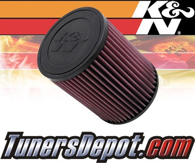 K&N® Drop in Air Filter Replacement - 05-07 Hummer H3 3.5L L5