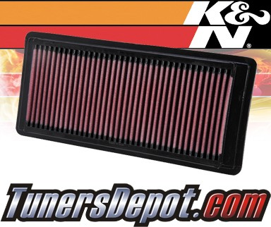 K&N® Drop in Air Filter Replacement - 05-07 Mercury Montego 3.0L V6