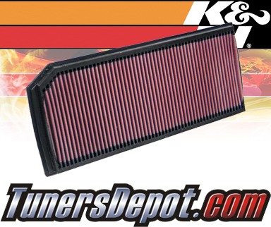 K&N® Drop in Air Filter Replacement - 05-07 Volkswagen VW Jetta 2.0L 4cyl