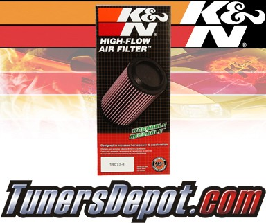 K&N® Drop in Air Filter Replacement - 05-07 Volvo V70 R 2.5L L5