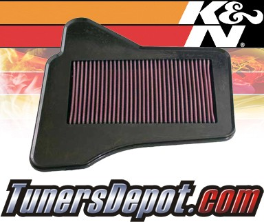 K&N® Drop in Air Filter Replacement - 05-08 Chrysler Pacifica 3.8L V6