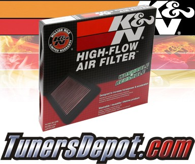 K&N® Drop in Air Filter Replacement - 05-08 Suzuki Reno 2.0L 4cyl