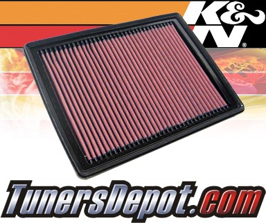 K&N® Drop in Air Filter Replacement - 05-09 Buick LaCrosse 3.8L V6