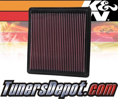 K&N® Drop in Air Filter Replacement - 05-10 Ford Mustang 4.0L V6